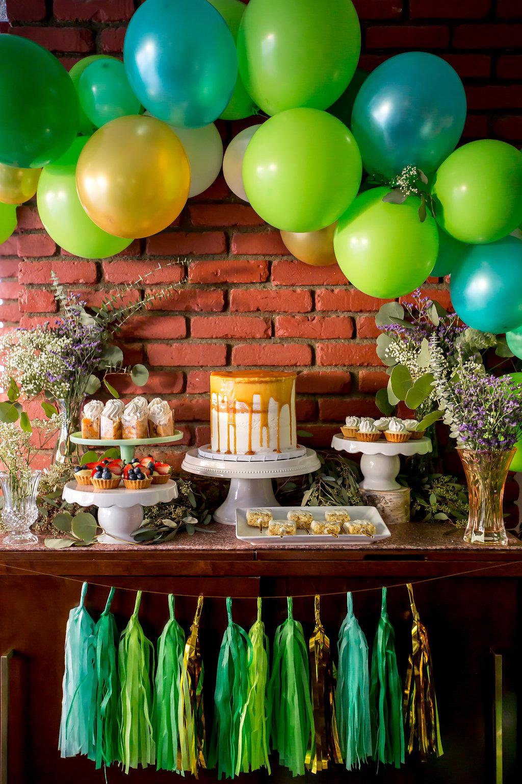 Baby Shower Dessert Table : shower, dessert, table, Shower, Lifestyle, Mwokaji, Cakery