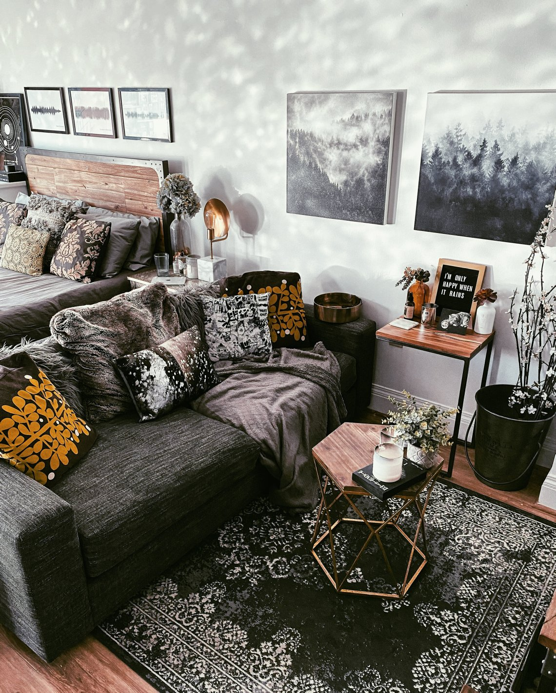 How To Make Your Small Living Room Decor Unique Stylish Moda Misfit