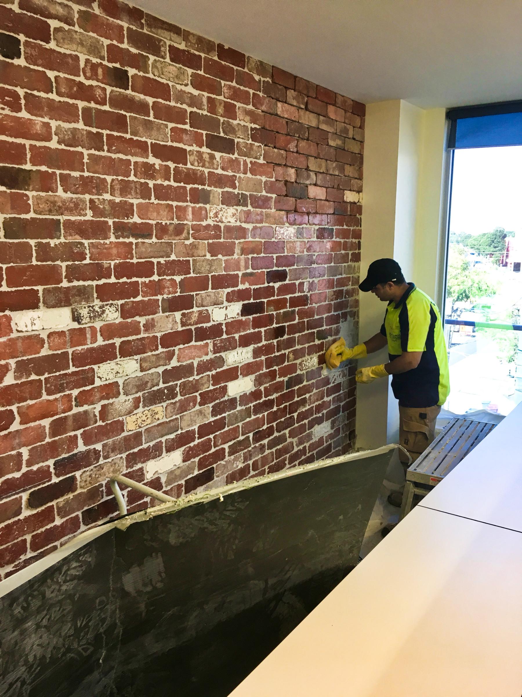installation guide real brick facing