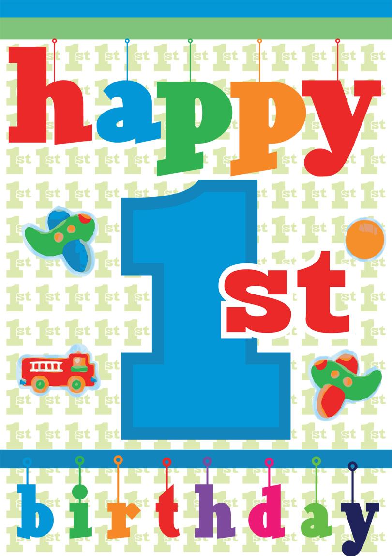 1st Birthday Cards Free Printable : birthday, cards, printable, Birthday, Printable, Cards, Quick, Easy!, PRINTBIRTHDAY.CARDS
