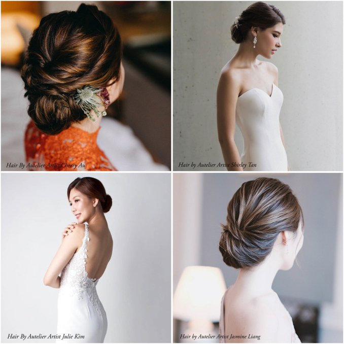 8 elegant hairstyles for every bride — autelier makeup