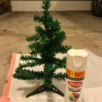 Dollar Store Diy Farmhouse Christmas Tree Legally Crafty Blog