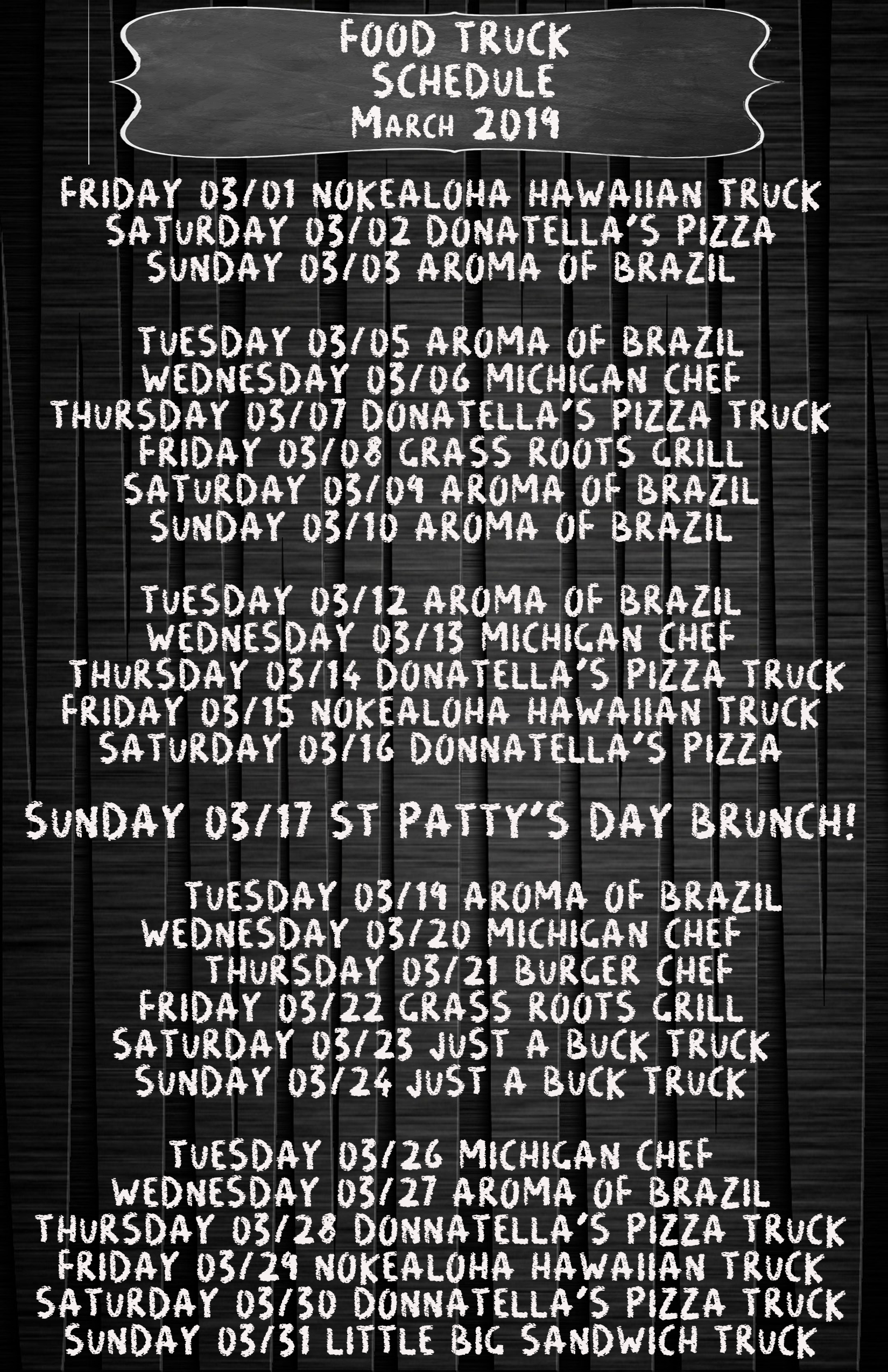 march 2019 food truck