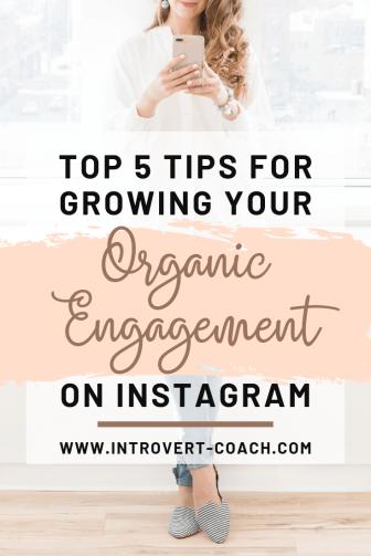 Organic Engagement on Instagram