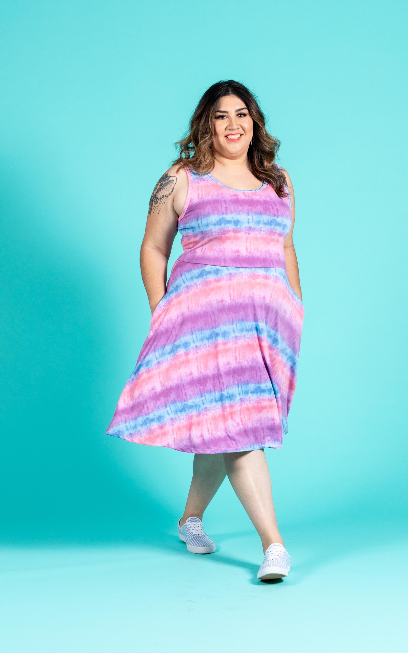 Lularoe Nicki Sizing : lularoe, nicki, sizing, Nicki, Sleeveless, A-Line, Dress, Women's, Collection, LuLaRoe