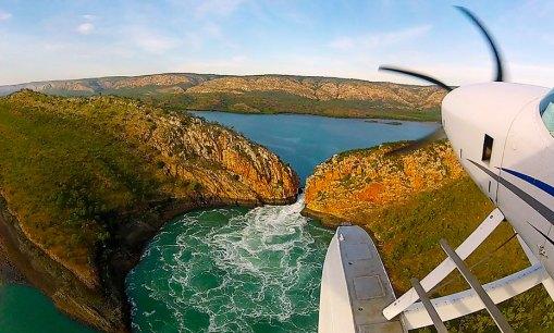 Derby Horizontal Falls Overnight Seaplane Tour — Scenic Flight Booker