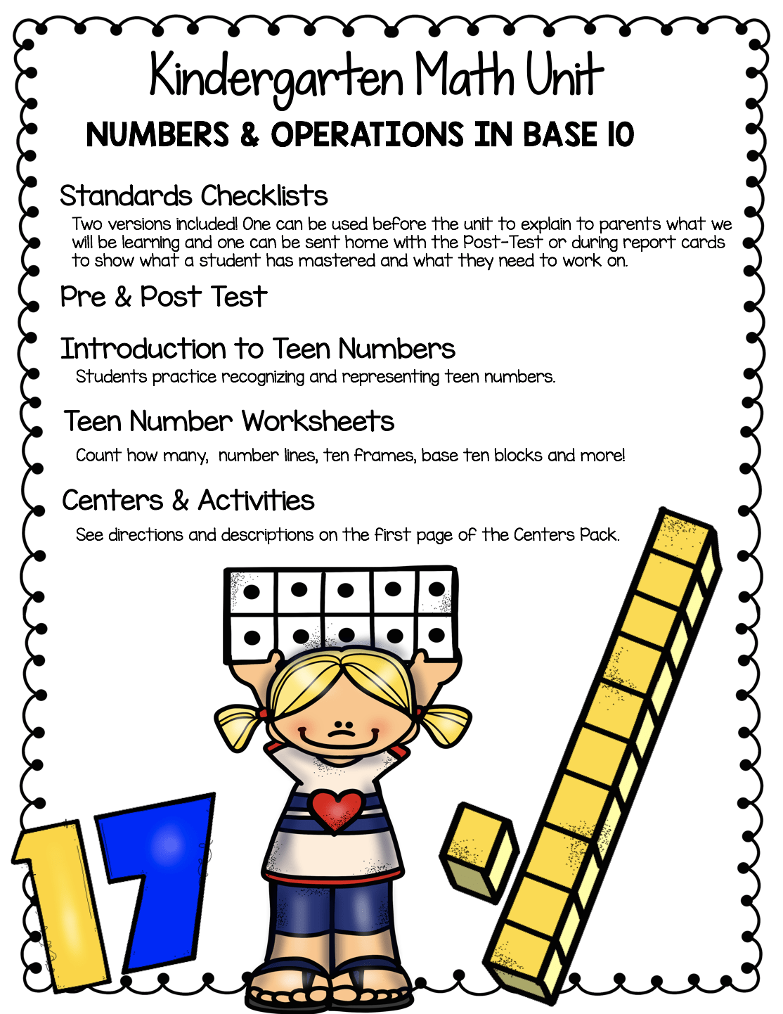 hight resolution of Teen Numbers \u0026 Place Value - FREEBIES — Keeping My Kiddo Busy