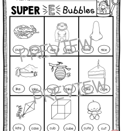 Long Vowels SUPER E Phonics Unit - FREEBIE — Keeping My Kiddo Busy [ 1156 x 894 Pixel ]