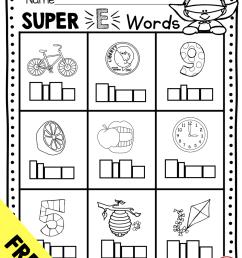 Long Vowels SUPER E Phonics Unit - FREEBIE — Keeping My Kiddo Busy [ 1158 x 888 Pixel ]
