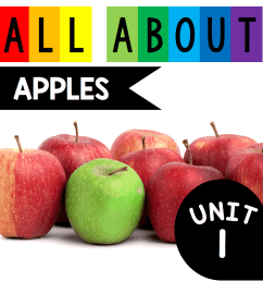 All About Apples - FREEBIE! — Keeping My Kiddo Busy [ 1017 x 1000 Pixel ]