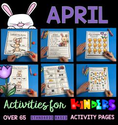 April in Kindergarten - FREE WORKSHEETS — Keeping My Kiddo Busy [ 1020 x 1000 Pixel ]