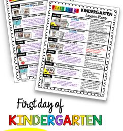 First Week in Kindergarten — Keeping My Kiddo Busy [ 1134 x 786 Pixel ]