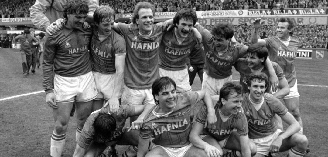Everton - English champions 1984/85