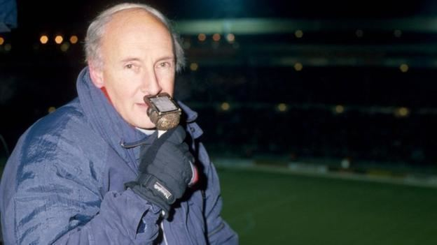 """EACH GENERATION GETS THE COMMENTATOR IT DESERVES"" - BARRY DAVIES"