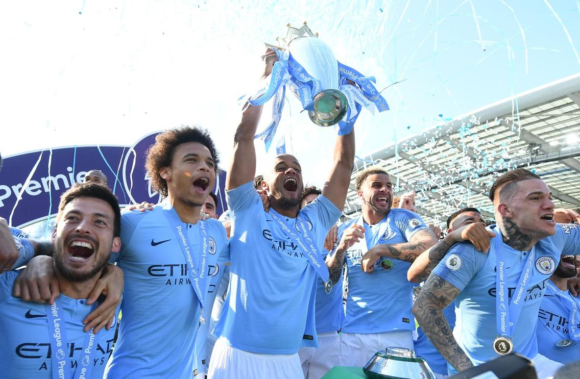 2018/19 Premier League champions Manchester City. Almost 200 league points over the last two seasons.