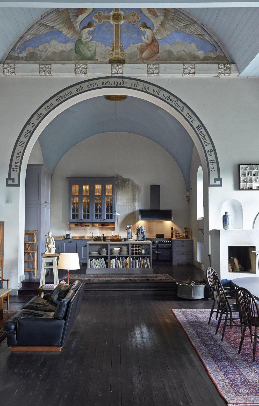 Living In A Church : living, church, Church:, Heavenly, Church, Conversions, NORDROOM