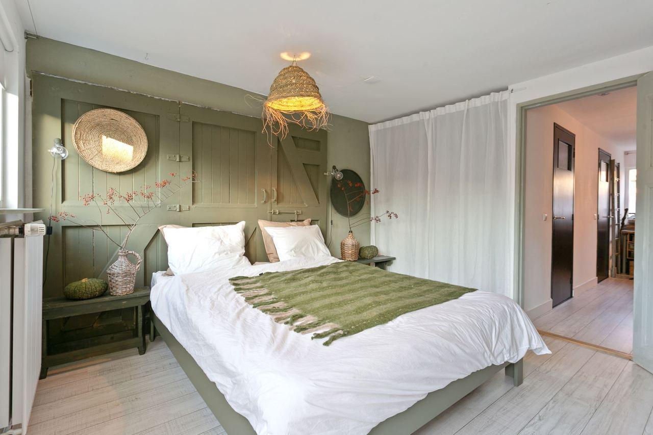 creative headboard and bedroom styling