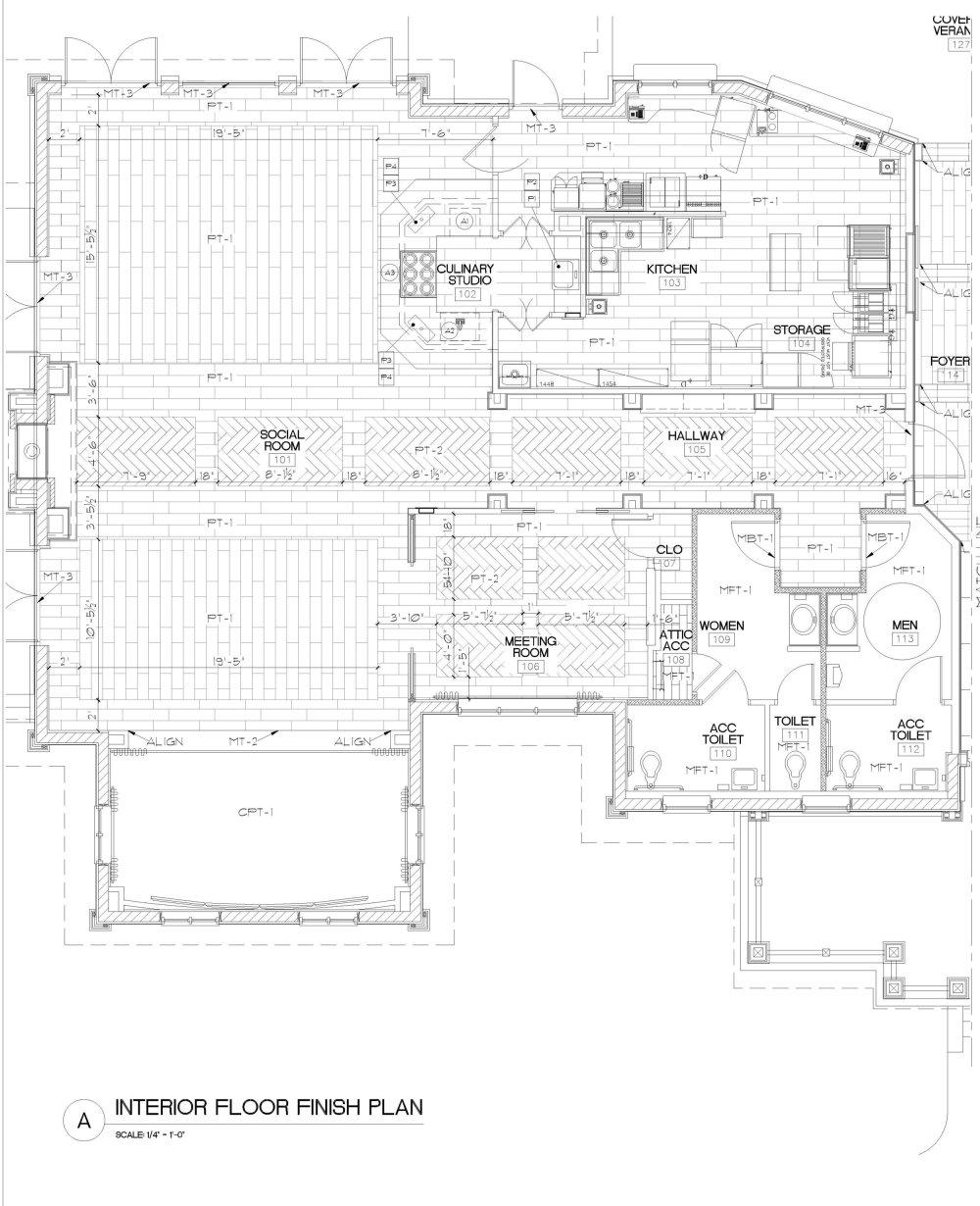 medium resolution of micamy design studio interior design beacon lake amenity center clubhouse new england style nautical hallway barrel ceiling pendants herringbone