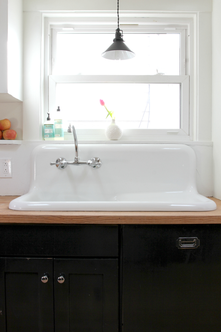 vintage sinks in the kitchen the