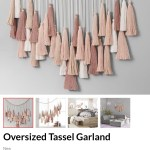 Pottery Barn Hack Diy Tassel Garland And Save 60 Allo Plum
