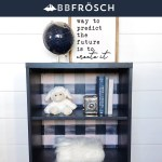 Ikea Bookcase Makeover Painted Laminate Bb Frosch