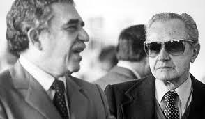 G. García Márquez y Juan Rulfo