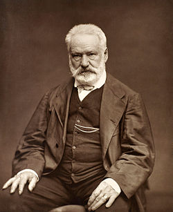 Victor Hugo    (1802 - 1885) Besanzón, Francia.