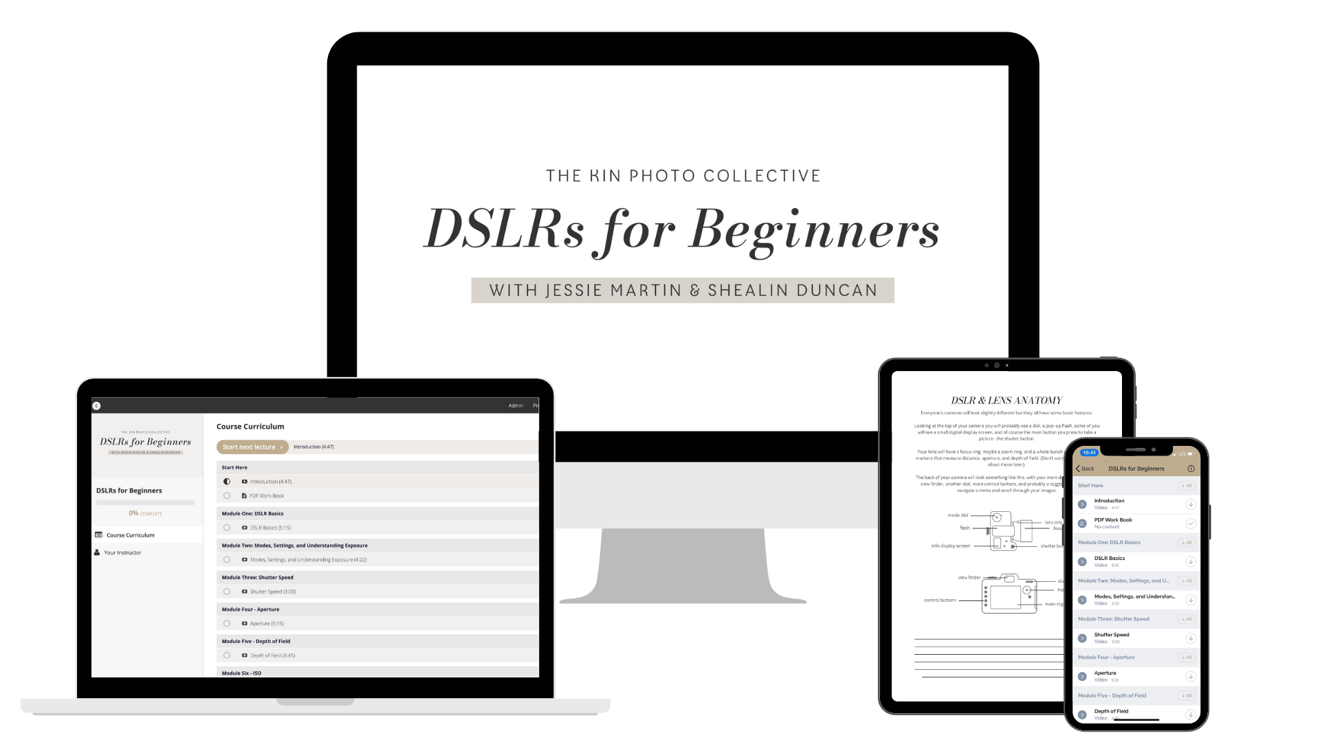 DSLRs for Beginners — Jessie Martin