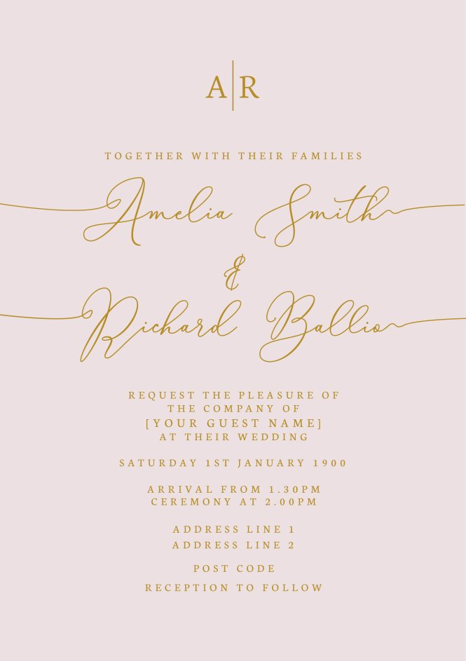Wedding Invitations Featherbarn