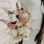 Flower Recipe 2 Whimsical Bridal Bouquet Kinflower
