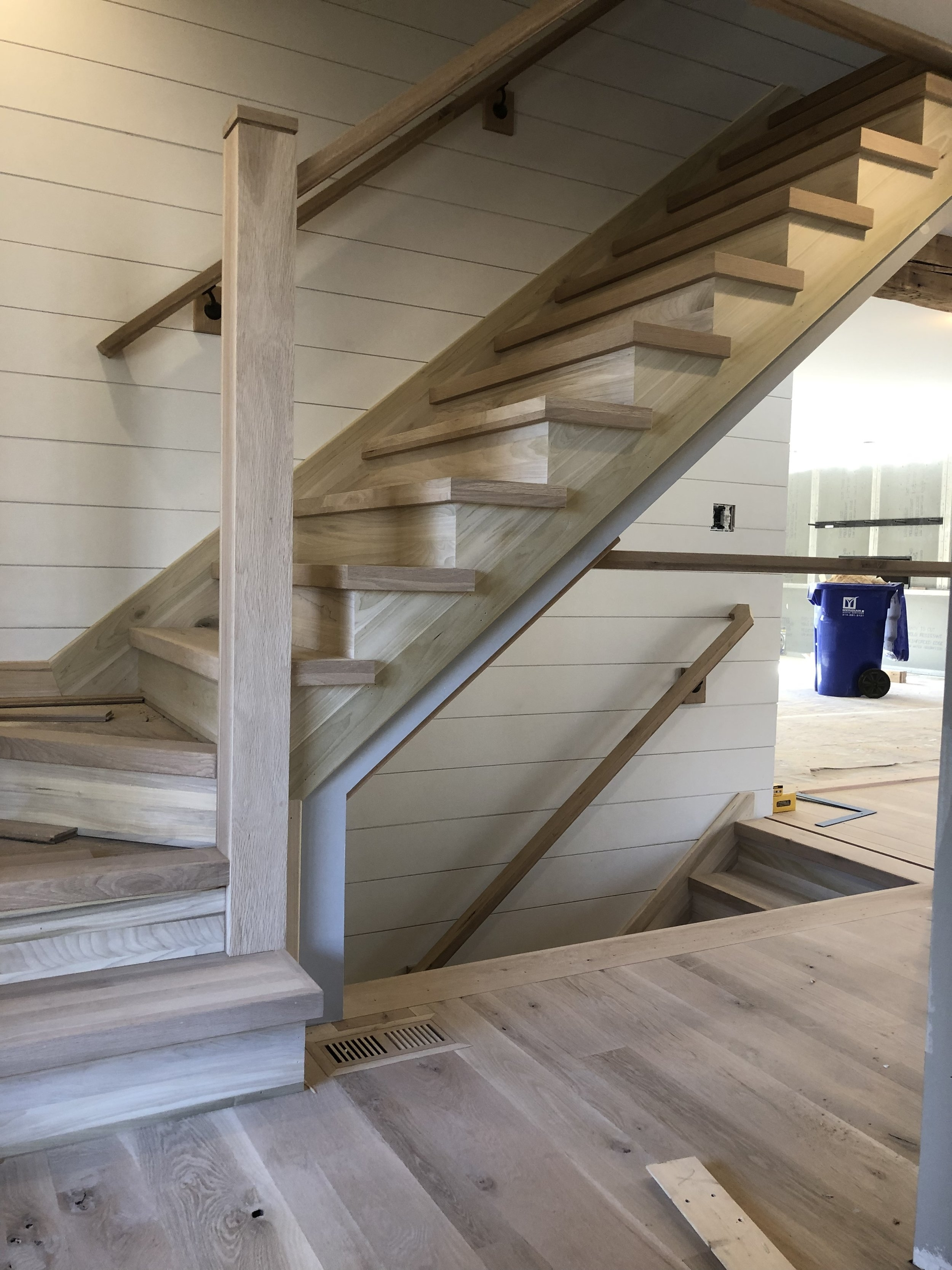Mid America Stair Company   Second Floor Stairs Design   Tree Trunk   Elegant   3Rd Floor   Creative   Tight Space