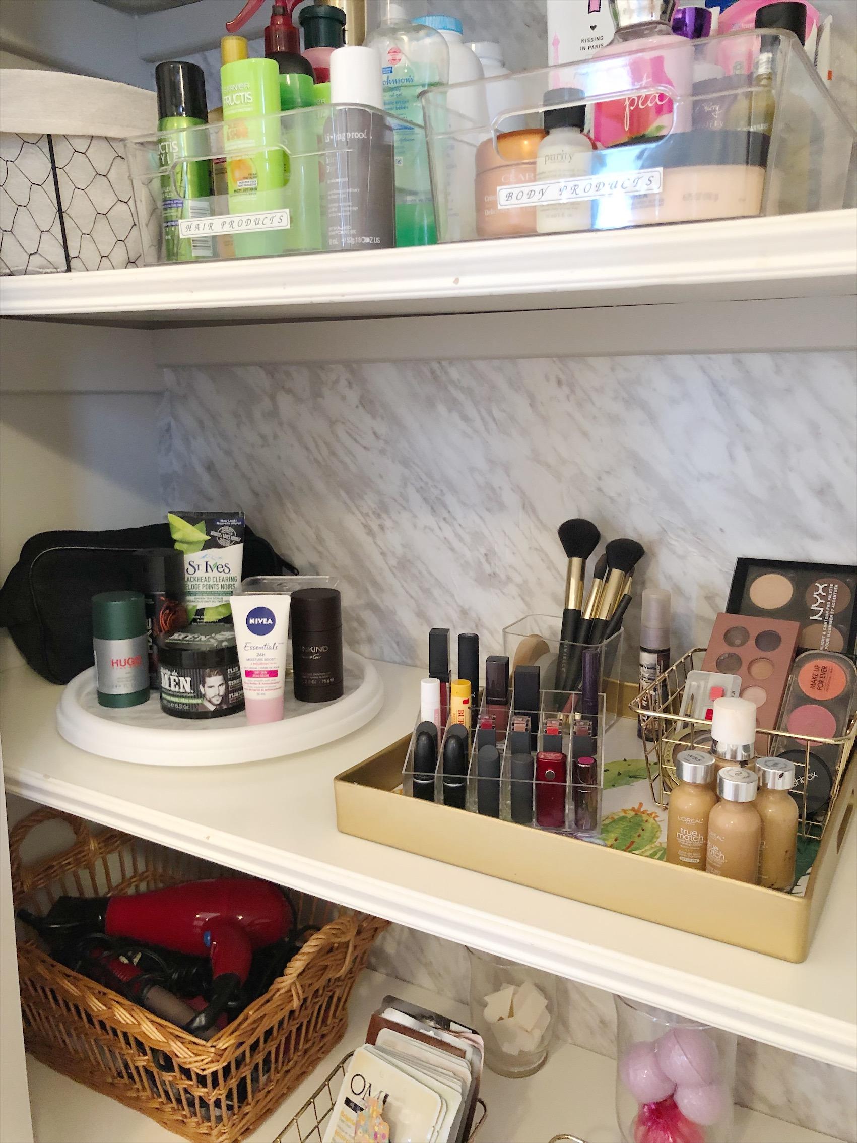 Bathroom Linen Closet Makeover Casa Nessa
