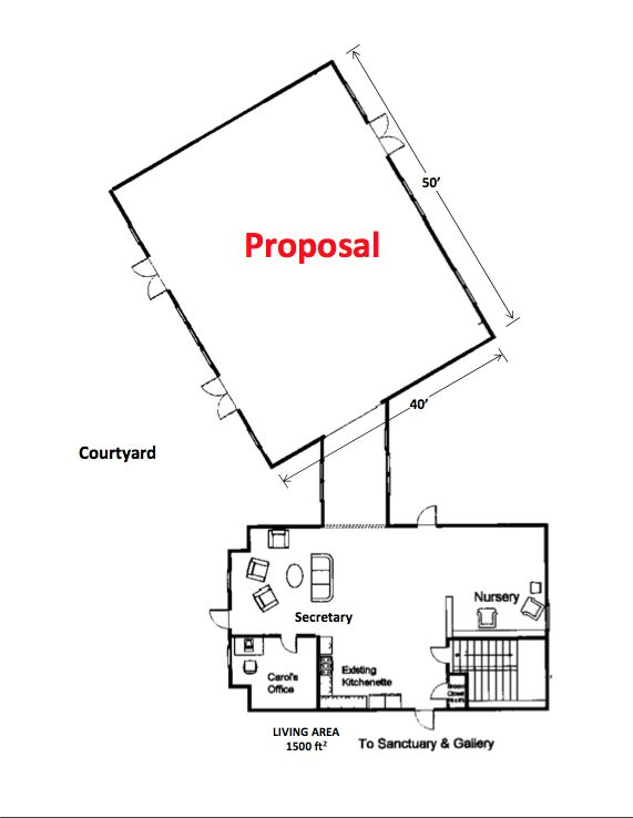 Proposed Expansion/New Roof — St. Thomas Episcopal Church