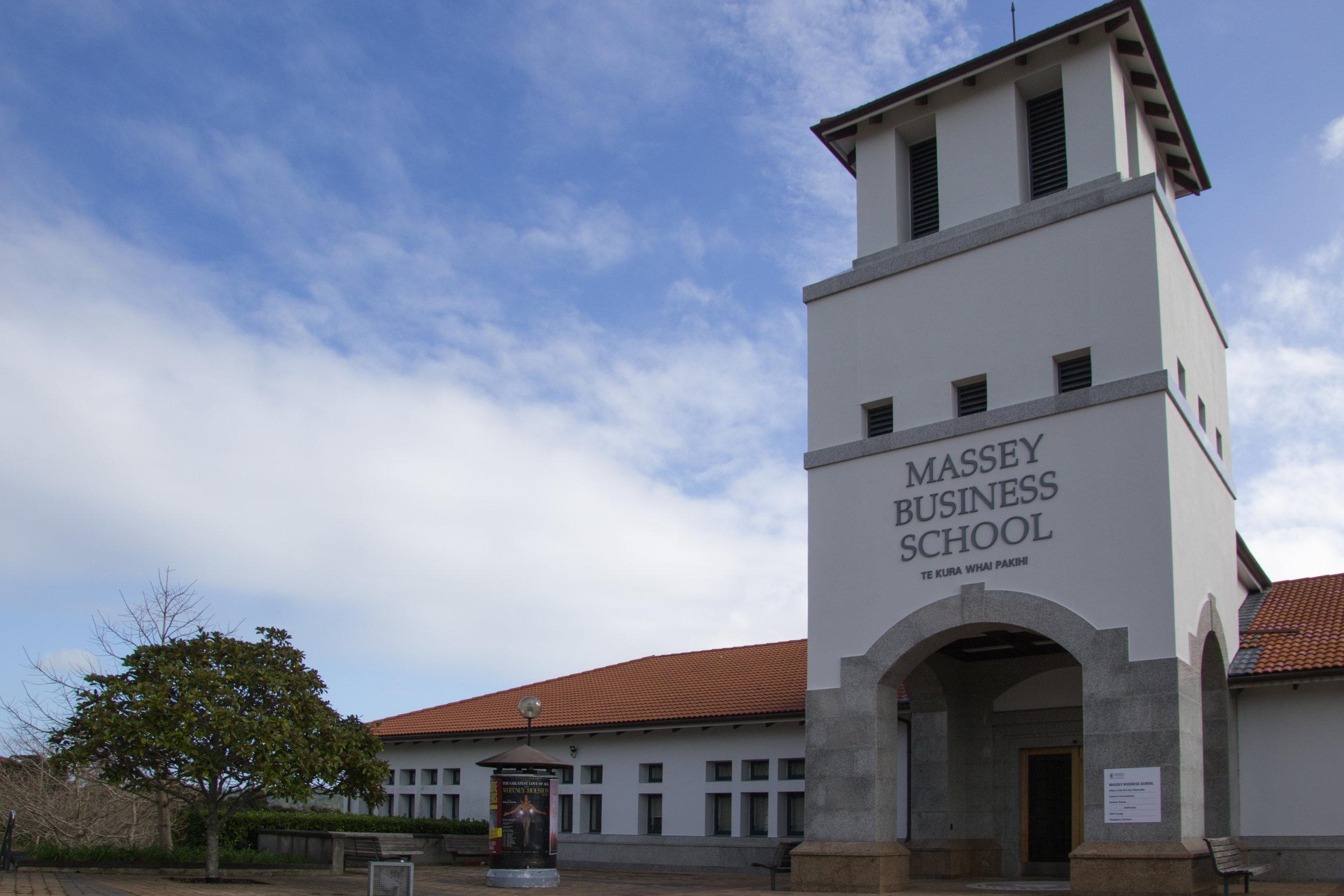 Beasiswa bisnis Massey University, Selandia Baru