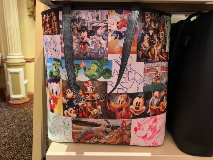 Mickey Mouse and Friends Tote Bag by Loungefly   $70.00