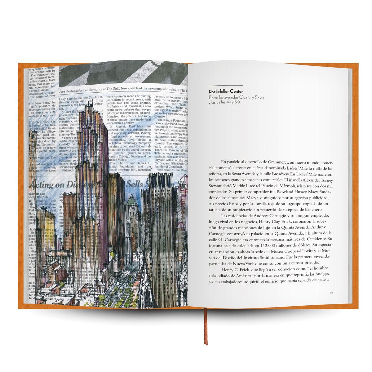 Libro de viajes de Nueva York de la editorial Tintablanca