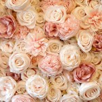 Blush Pink Devon Luxury Flower Wall Hire Petal And Knot