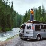 1997 Chevy Express Camper Van Intro To Our Budget Build Wanderlust Not Less Adventure Photography Nature Stickers