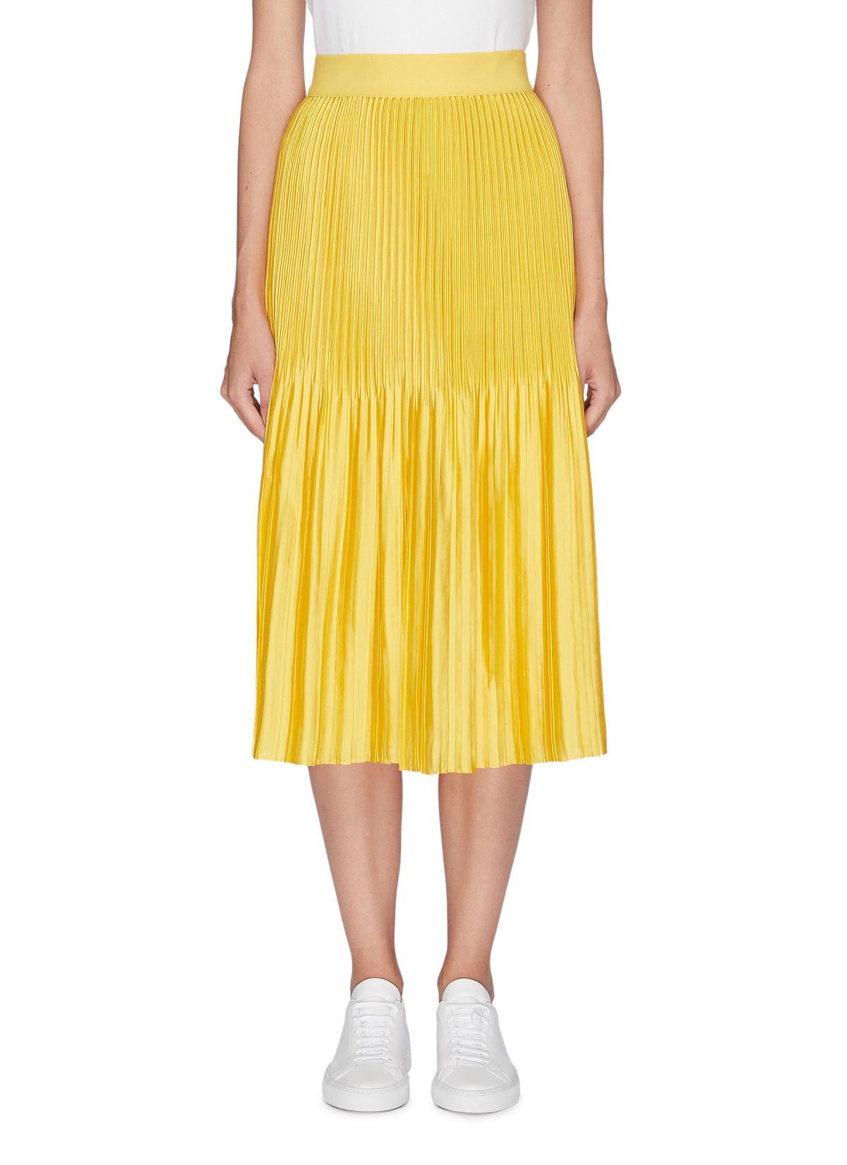 △ Alice + Olivia 'KEN' Pleated Satin Skirt US$295 (~HK$2314)