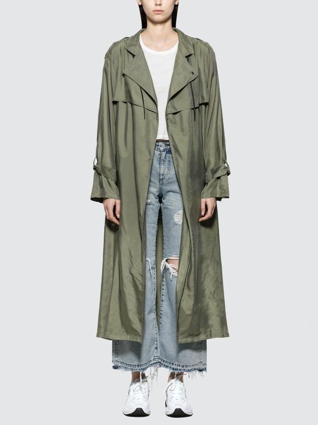 John Elliott Scarlett Trench Coat HKD$2,826