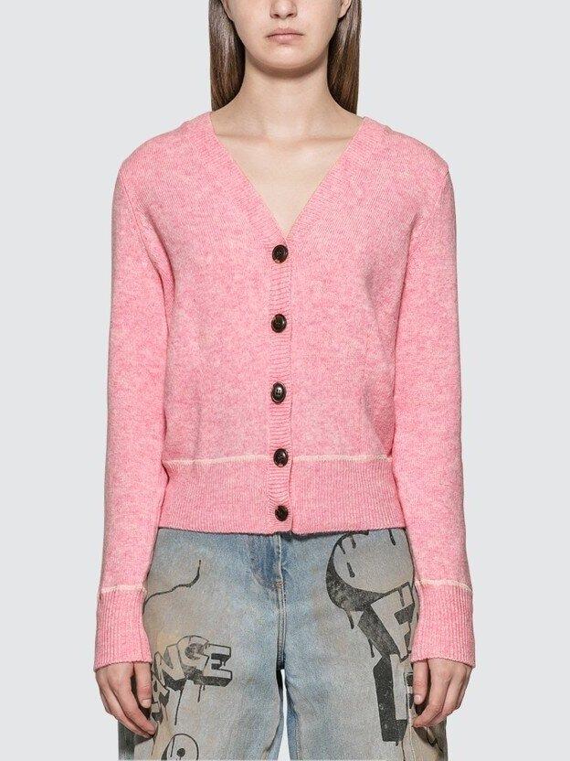 GANNI Wool Knit Cardigan HK$1,216.75