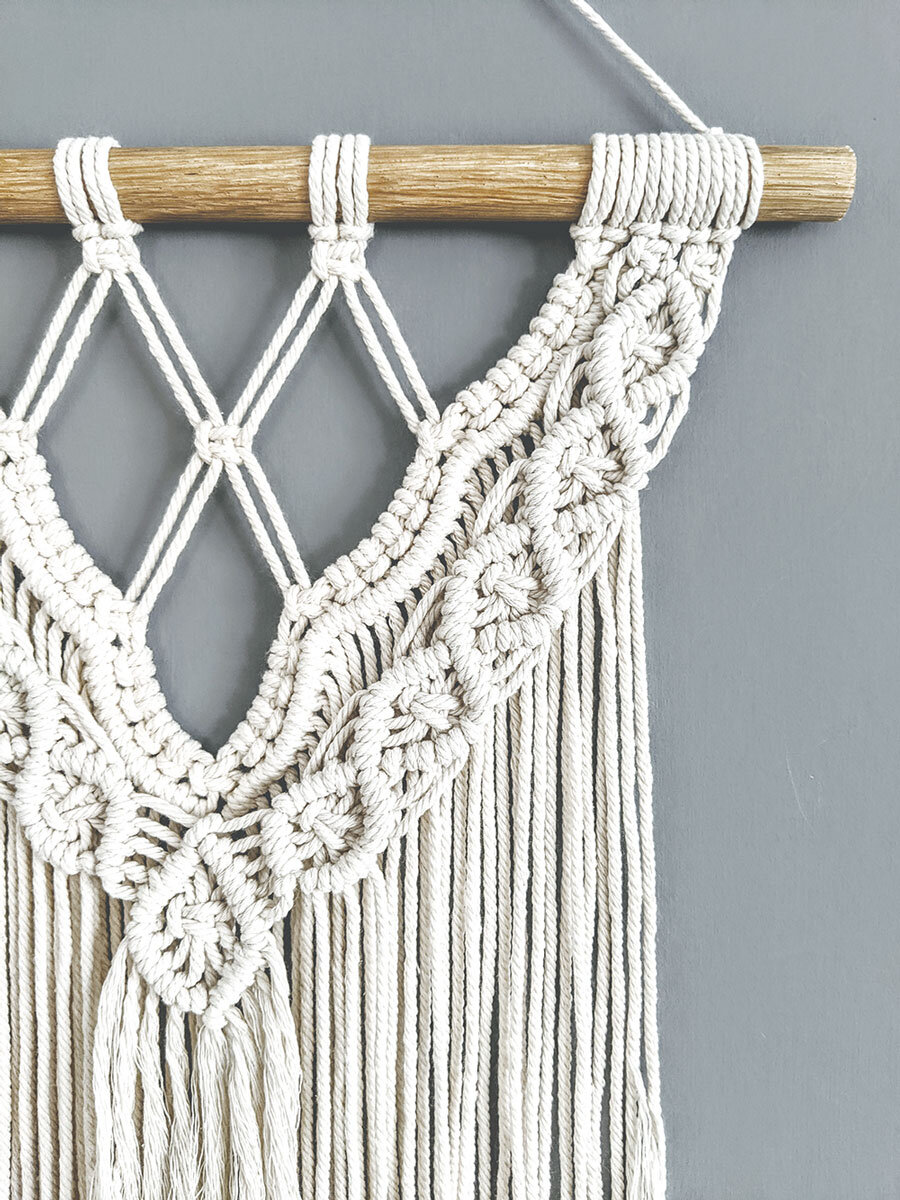 handmade macrame wall hangings free delivery kinfolk decor home decor interiors and accessories