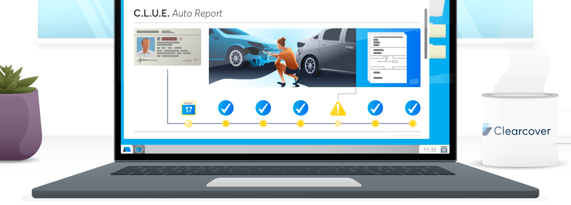 What Is A C L U E Auto Insurance Report Clearcover Insurance