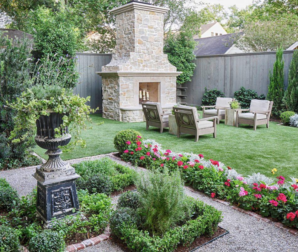Modern English Garden Lanson B Jones Co