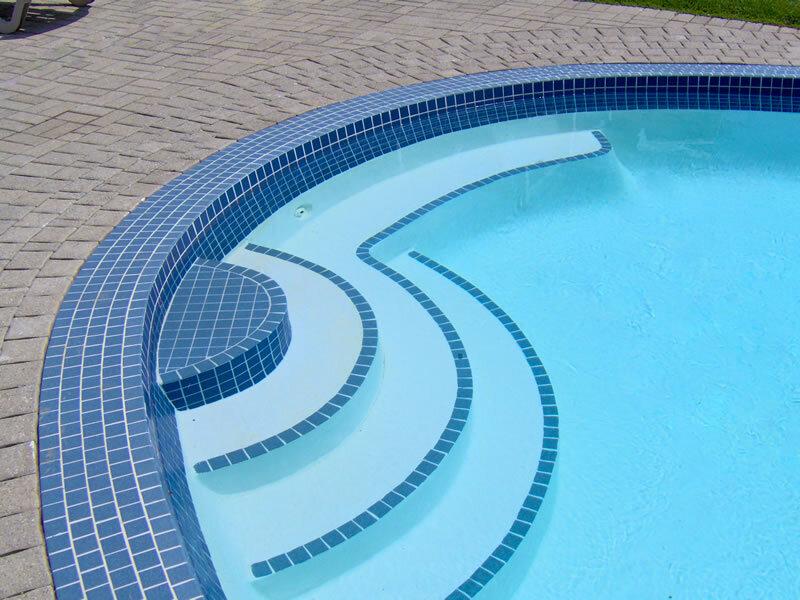 swimming pool tile repair concrete