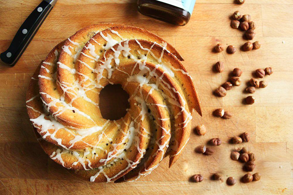 Hazelnut & Cold Brew Bundt Cake