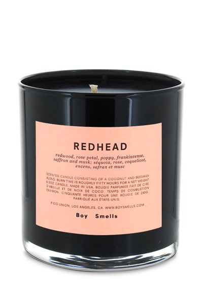 - BOY SMELLS, Redhead Candle, here