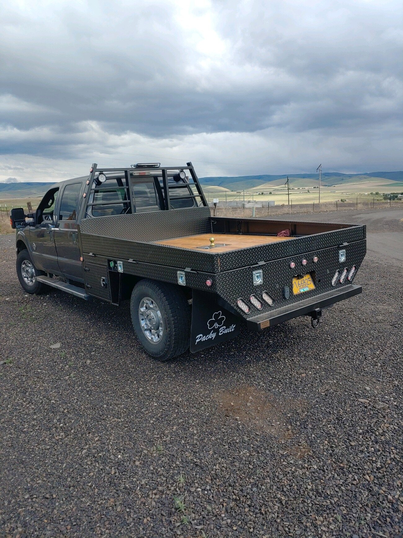 2019 F350 Flatbed : flatbed, Packy, Built, Steel, Flatbed, DOHERTY, WELDING, Where, Quality, Craftsmanship, Welded, Products.