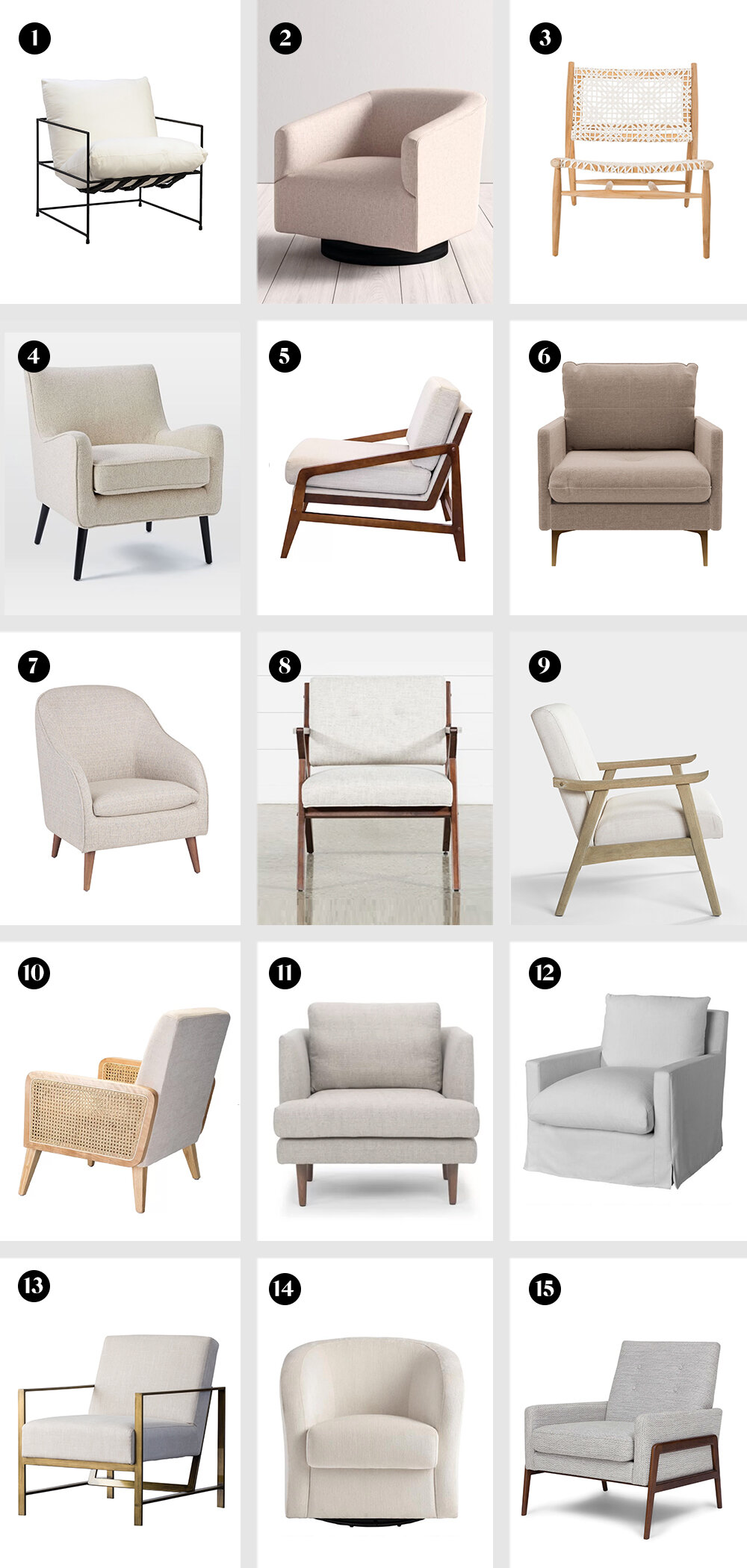 15 Stylish Accent Chairs That Cost Less Than 500 Br Desert Hue