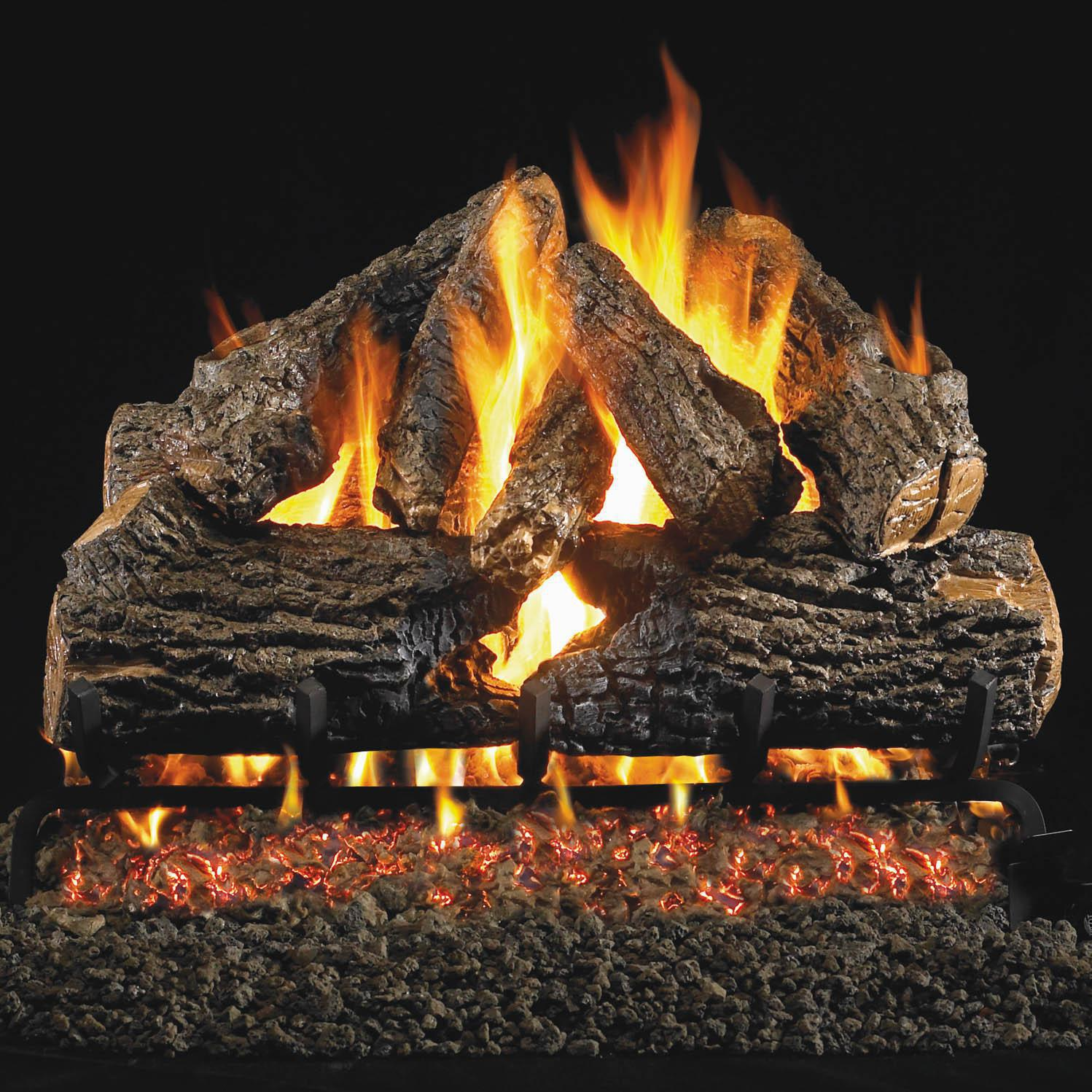 gas logs taproot hearth patio